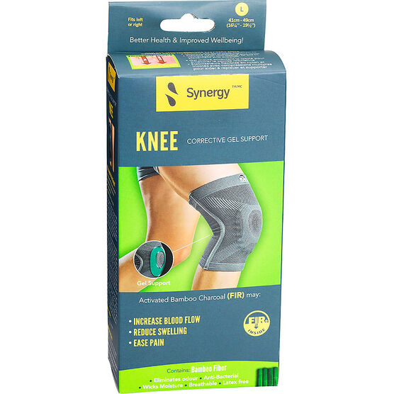 Synergy Knee Corrective Gel Support - Large