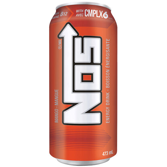 NOS Energy Drink - Mango - 473ml