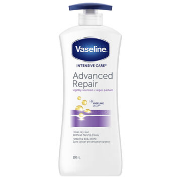 Vaseline Intensive Care Advanced Repair Lightly Scented Lotion - 600ml