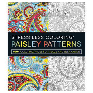 Stress Less Colouring: Paisley Patterns