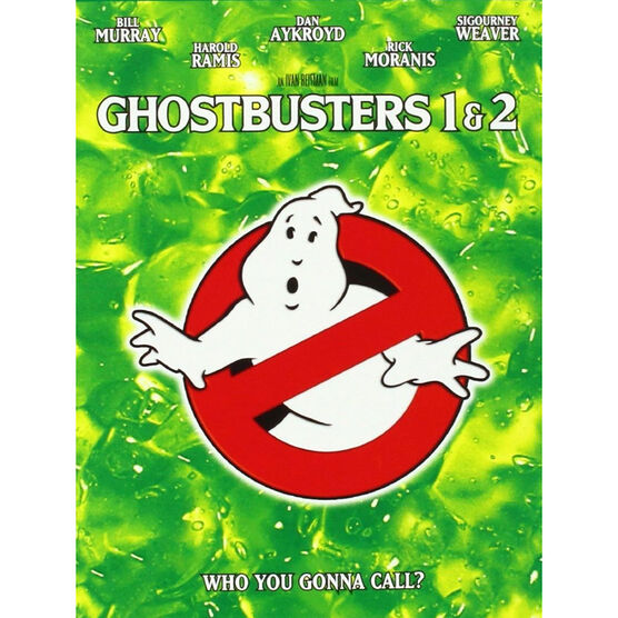 Ghostbusters Double Feature: Ghostbusters 1 & 2 - DVD