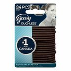 Goody Ouchless Elastics - Brown - Thick - 24's