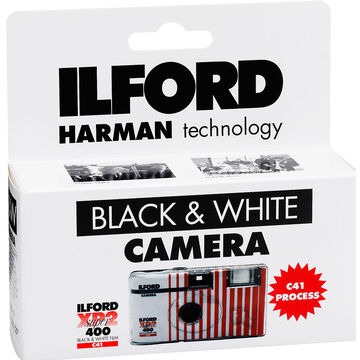 Ilford XP2 Black & White Single Use Camera with Flash - 27 exposures