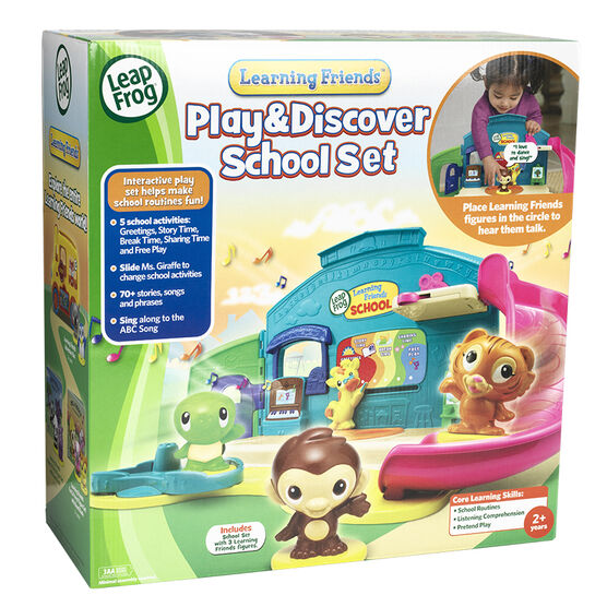 Leap Frog Play & Discover School Set