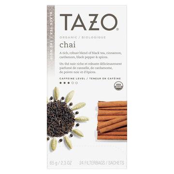 Tazo Organic Chai Black Tea - 24's
