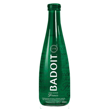 Badoit Carbonated Natural Mineral Water - 330ml