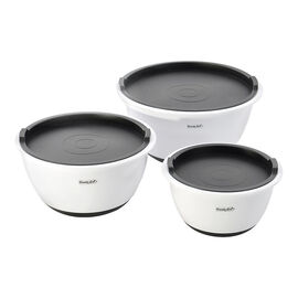 Cook 'n' Co Mixing Bowl Set - Grey - 6 piece