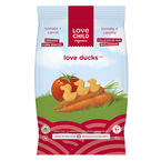 Love Child Love Ducks Organic Corn Snacks - Tomato + Carrot - 30g