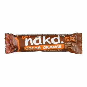 Nakd Raw Fruit & Nut Bar - Cocoa Orange - 35g