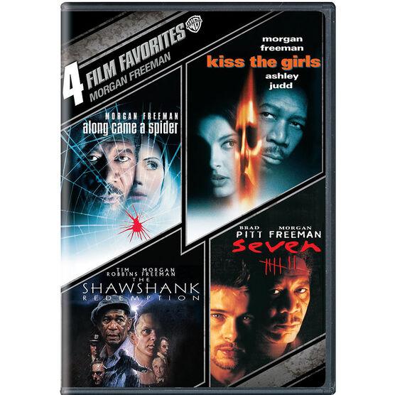 4 Film Favorites: Morgan Freeman - DVD