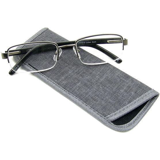 Foster Grant Lyden Gun Men's Reading Glasses - 2.50