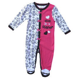 Baby Mode Diva in a Diaper Coverall - 5638 - Assorted
