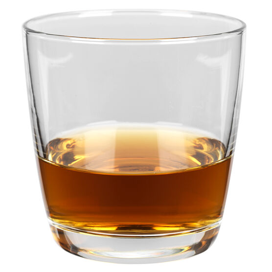 Atlas Tempered Double Old Fashion Glass - 10.5oz - Set of 4