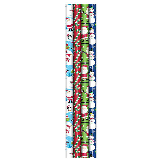 Plus Mark Juvenile Wrapping Paper - 40 x 90 - Assorted