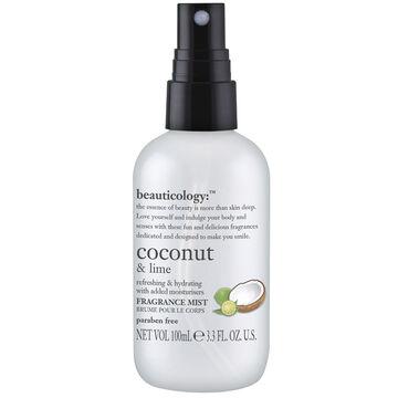 Beauticology Coconut & Lime Fragrance Mist - 100ml