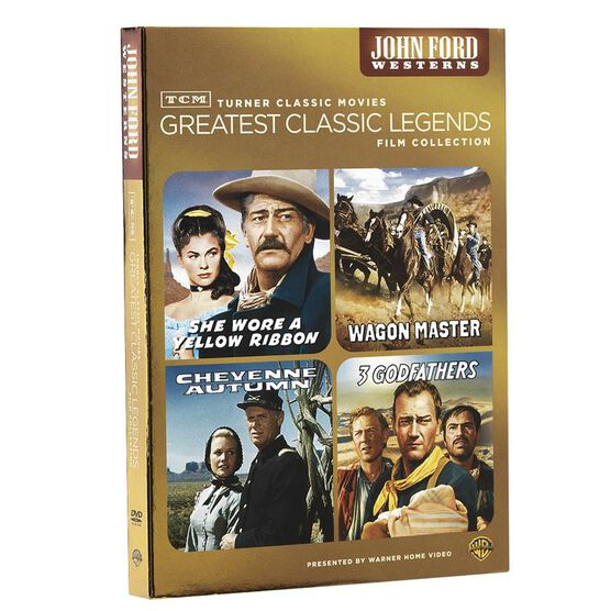 TCM Greatest Classic Films Collection: John Ford Westerns - DVD
