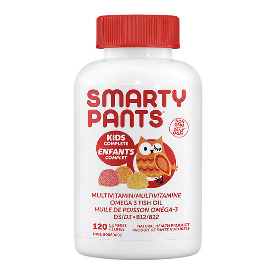 Smartypants Kids Complete Multivitamins Gummies - 120's