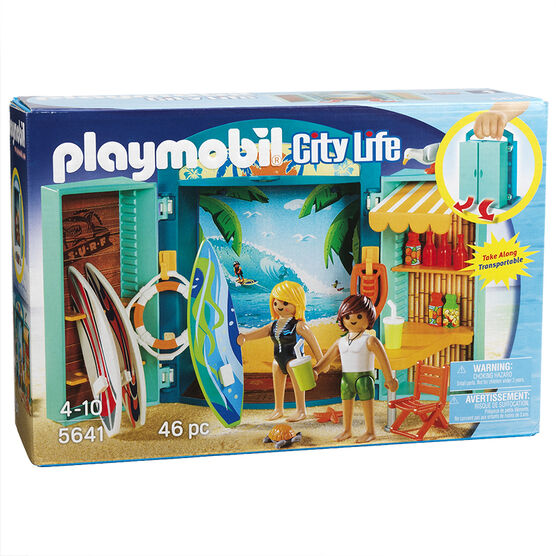 Playmobil City Life - Play Box - Surf Shop - 56412