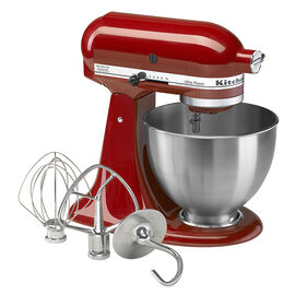 KitchenAid Ultra Power Series 4.5-Quart Tilt-Head Stand Mixer with BONUS Flex Edge Beater - KSM95ERFEGWP