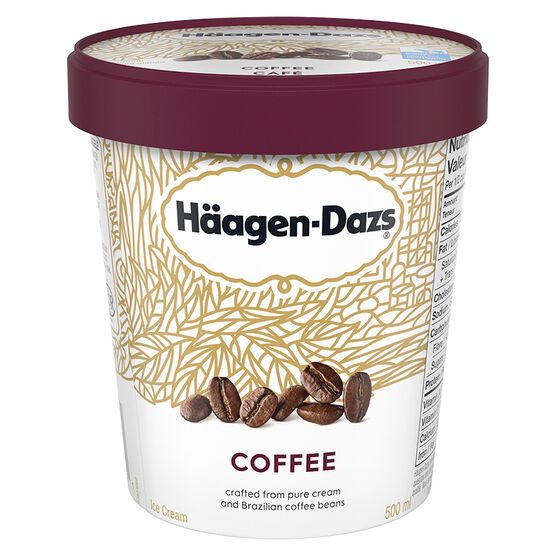 Haagen Dazs Coffee Ice Cream - 500ml
