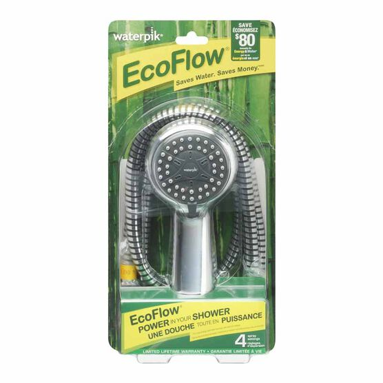 Waterpik EcoFlow 3 Mode Handheld Shower Head - VBE-453