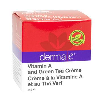 Derma E  Vitamin A and Green Tea Crème - 56 g