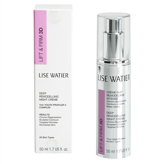 Lise Watier Lift & Firm 3D Deep Remodelling Night Creme - 50ml