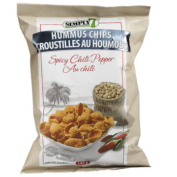 Simply 7 Hummus Chips - Spicy Chili Pepper - 142g