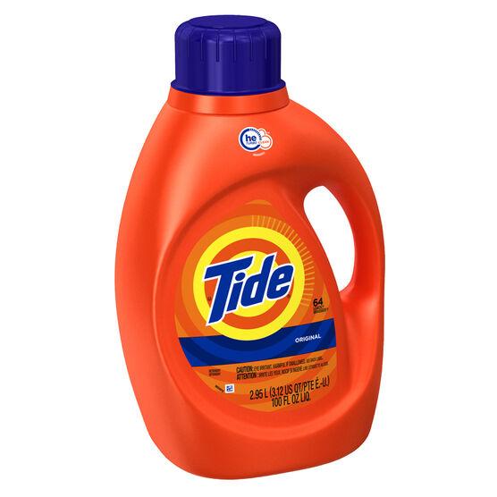 Tide HE Liquid Laundry Detergent - Original - 2.95L/64 use