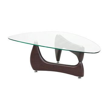 London Drugs Glass Top Coffee Table - 120 x 69 x 41cm