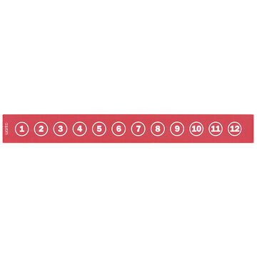 Want Ruler - Red - 13 inches
