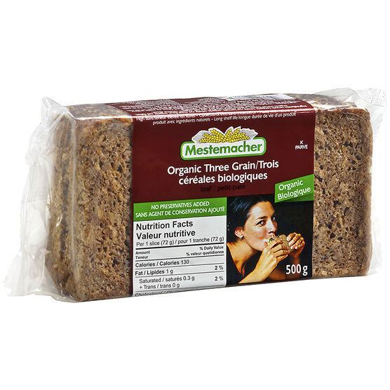 Mestemacher Three Grain Loaf - 500g