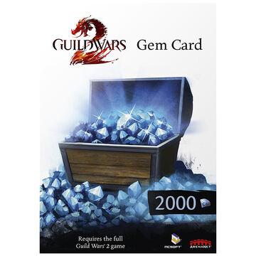 Guild Wars 2 Gem Card - 2000 Points