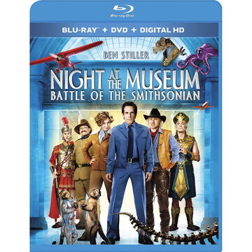 Night at the Museum: Battle of the Smithsonian - Blu-ray + DVD + Digital HD
