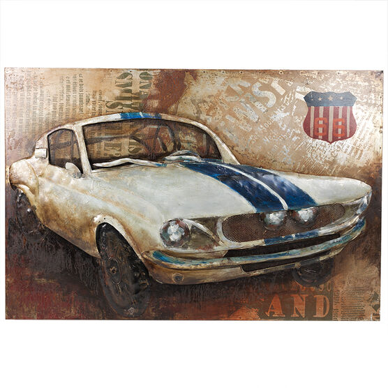 London Drugs Metal Print Muscle Car