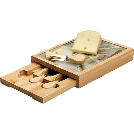 London Drugs Sliding Cheese Set - 5 Piece