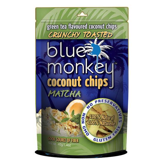 Blue Monkey Coconut Chips - Matcha - 40g