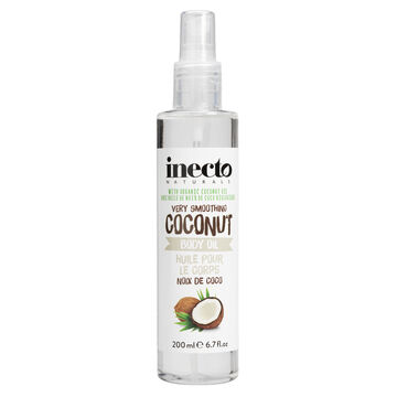 Inecto Naturals Very Smoothing Coconut Body Oil - 200ml