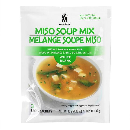 Mishima Miso Soup White- 30g