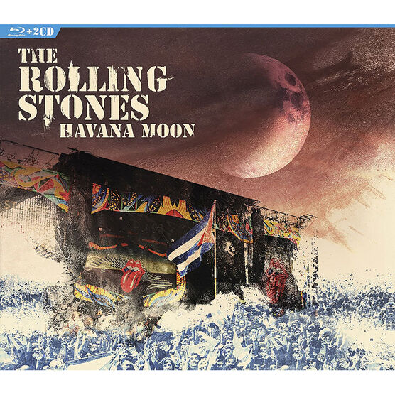 The Rolling Stones - Havana Moon - Blu-ray + 2 CD