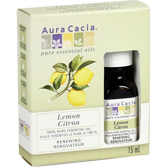 Aura Cacia Lemon Oil - 15ml