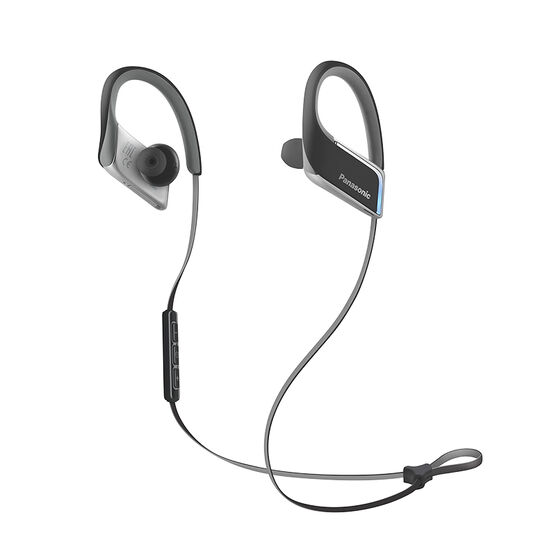 Panasonic Bluetooth Sport Clips Heaphones - Black - RPBTS50K