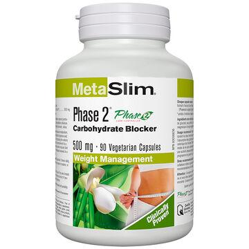 Webber MetaSlim Phase 2 Carbohydrate Blocker - 90's