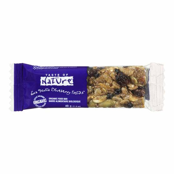 Taste of Nature Exotic Bars - Chilean Blueberry Fields - 40g
