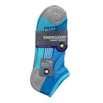 Energizers Ladies Sport Socks - Blue - Sizes 9-11