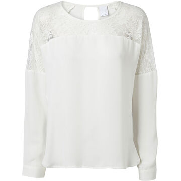 Vero Moda Lucy Lace Long Sleeve Top - Assorted