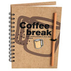 London Drugs Coffee Break Note Pad - 160 pages