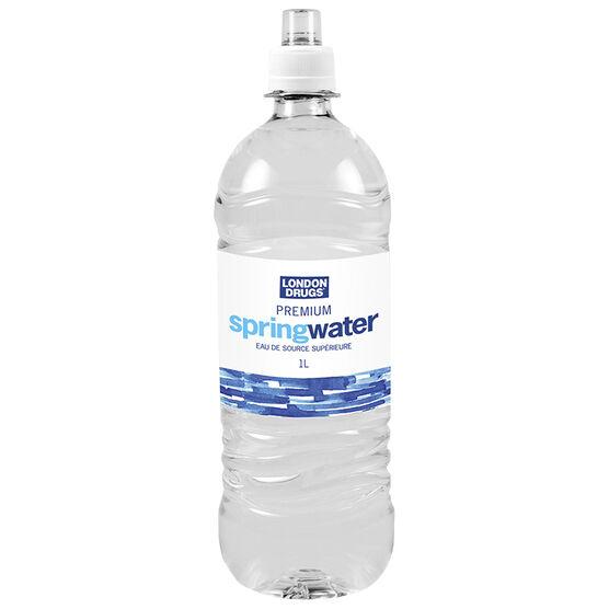 London Drugs Premium Spring Water with Cap - 1L