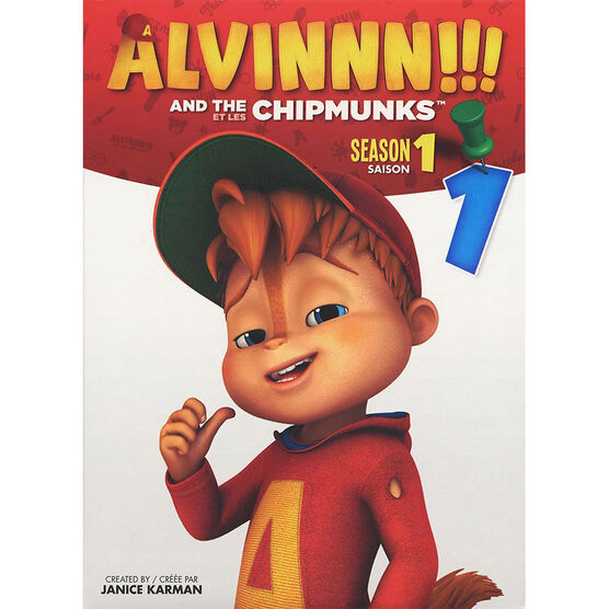 Alvin and the Chipmunks - Season 1: Volume 1 - DVD