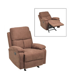 London Drugs Fabric Rocker Recliner - Brown